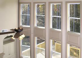 Luxury Living Room Window Wall 2